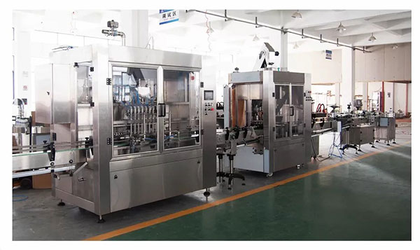 High Efficiency Herbicide Bottle Filling Line