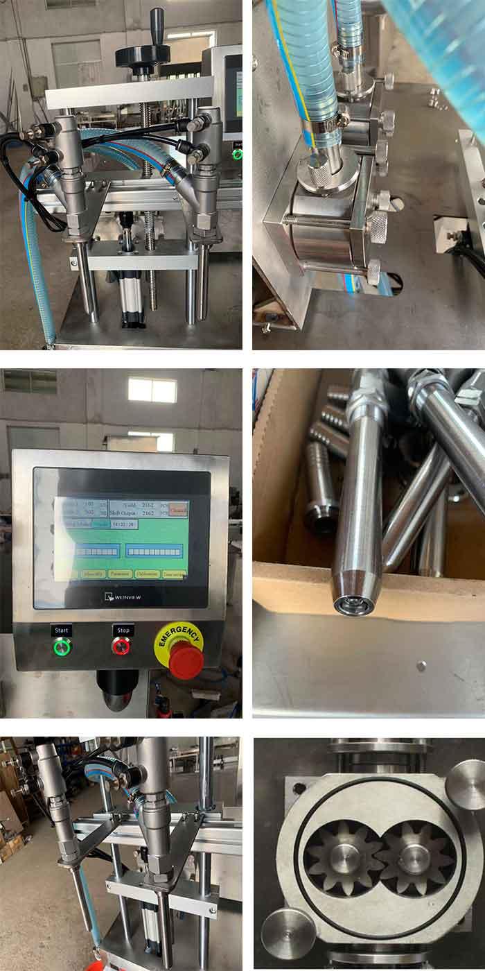 gear pump filling
