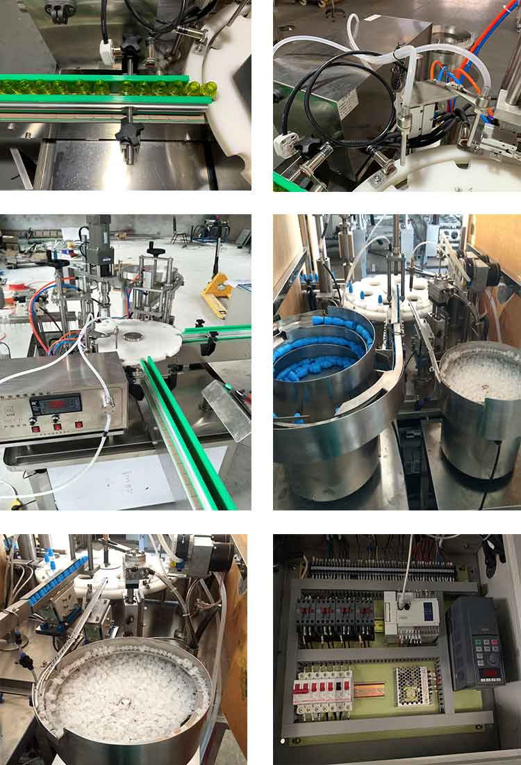 e liquid filling machine