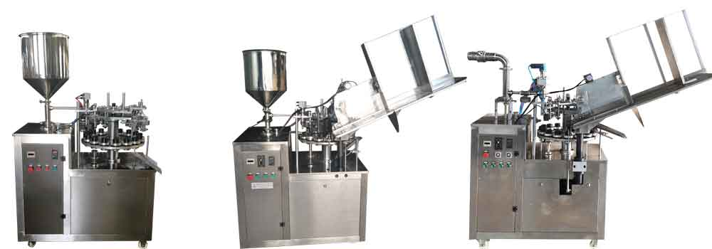 aluminum tube filling folding machine