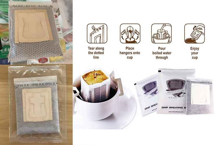 drip coffee packing machine
